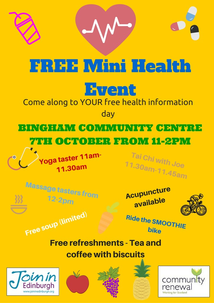 3Mini Health Event 7th October 2015 (2)