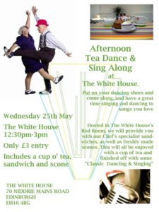 Tea Dance May Web Poster