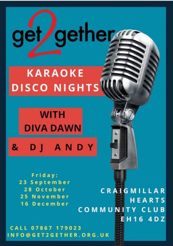 Karaoke Disco Nights @ Craigmillar Hearts Community Club   Edinburgh   Scotland   United Kingdom