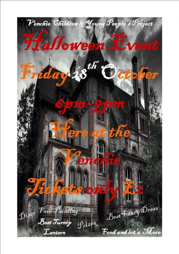 Halloween event @ Venchie Children & Young Peoples Project | Edinburgh | Scotland | United Kingdom