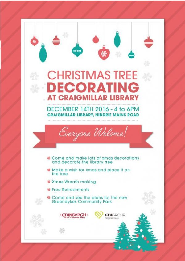 craigmillar-community-xmas-event-flier