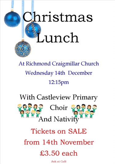Richmond Christmas Lunch @ Richmond Church   Edinburgh   Scotland   United Kingdom